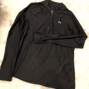 Black under armor quarter zip